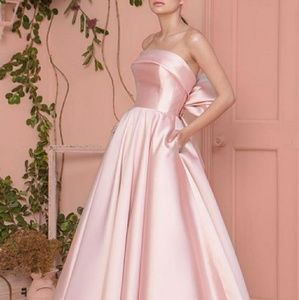 Dresses & Skirts - Strapless Satin Ball Gown